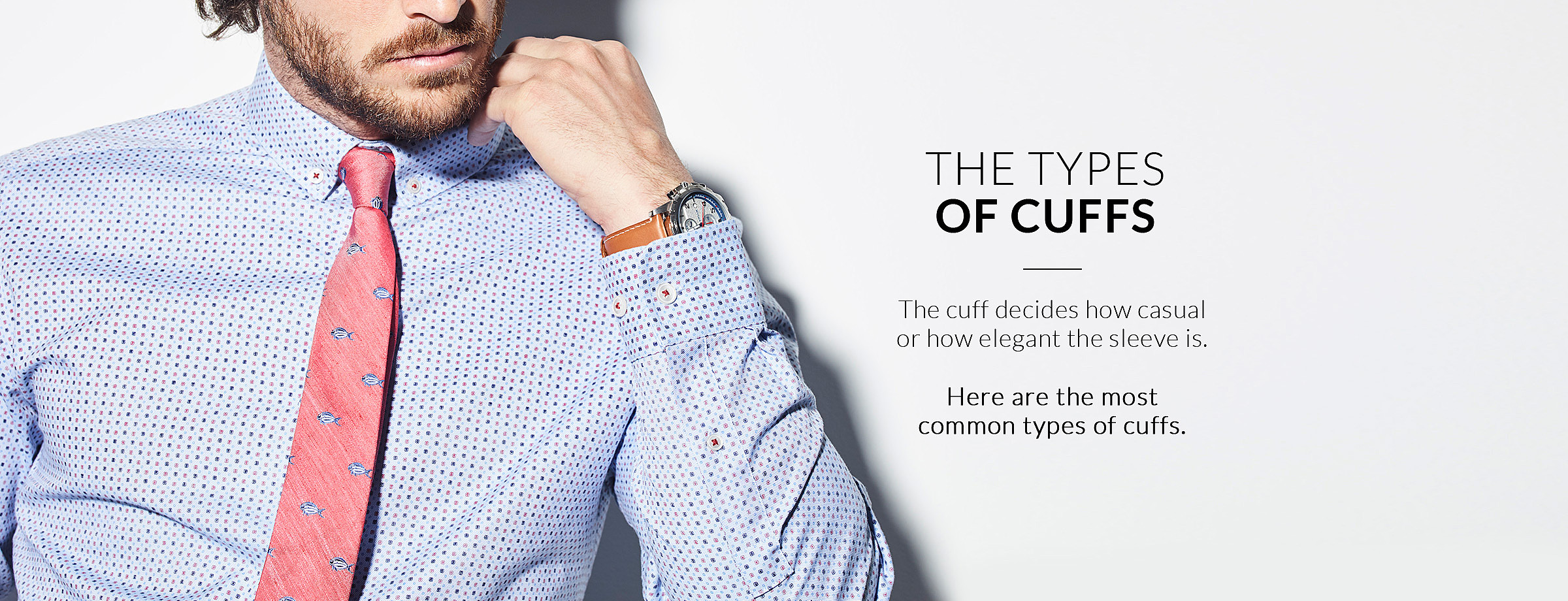 The types of cuffs
