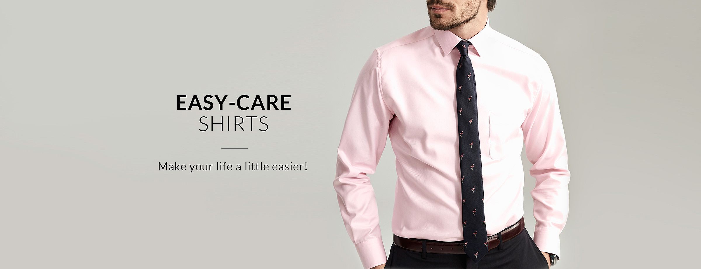 Easy-care shirts