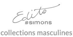 Edito Simons - Collections masculines