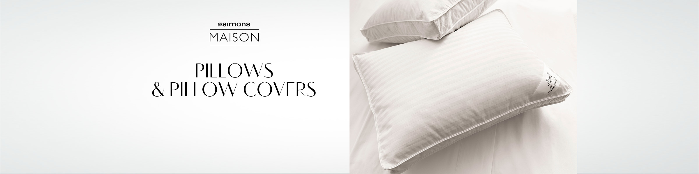 Pillows: Shop for Synthetic & Down Pillows Online in Canada | Simons