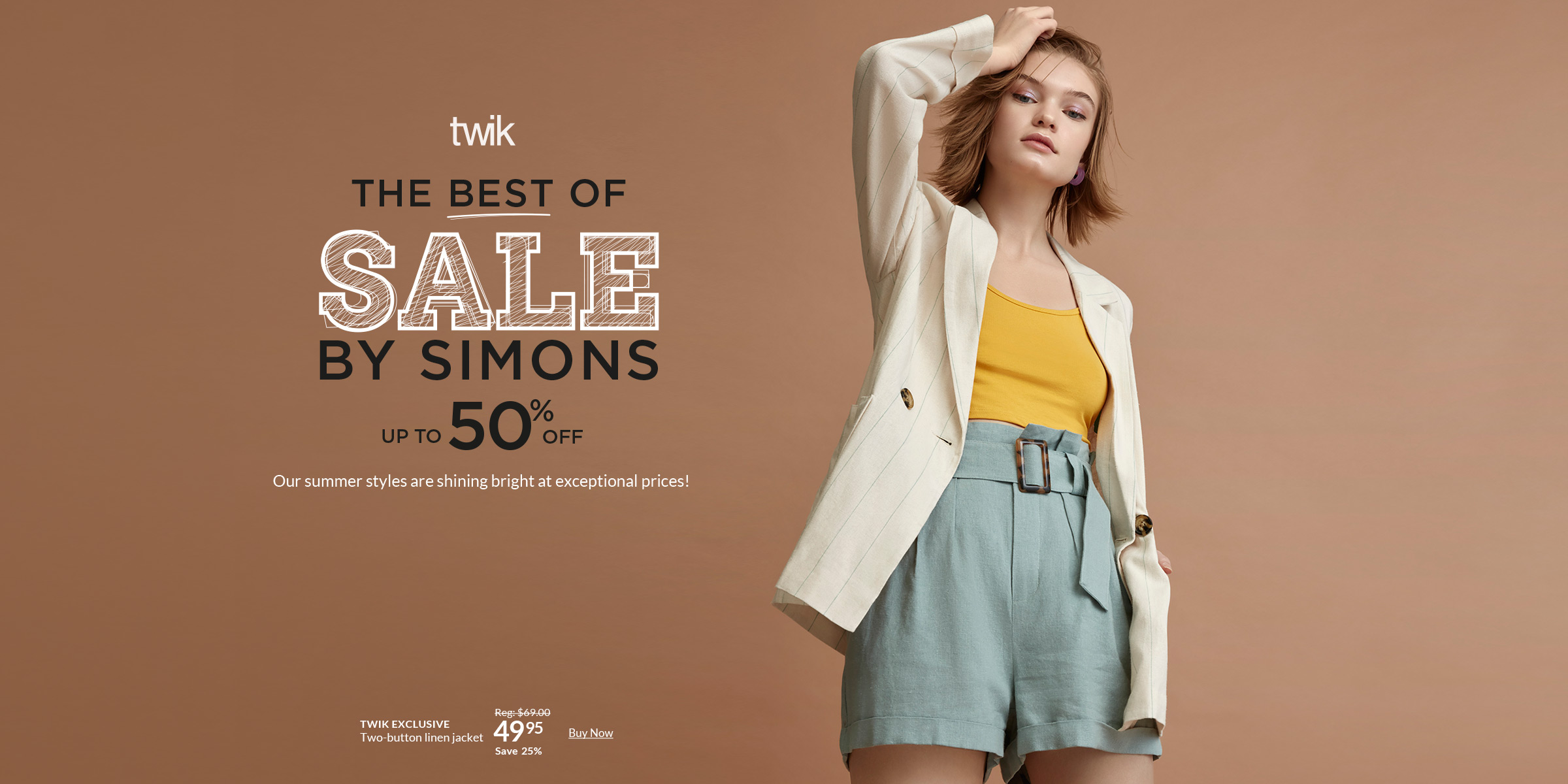 75ea6a5ee3 Women's Clothing & Fashion Accessories for Spring/Summer | Simons